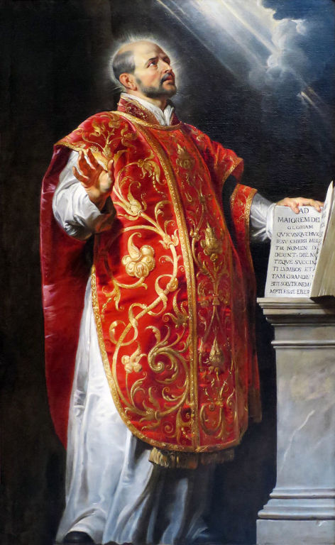 St. Ignatius de Loyola by Paul Reubens