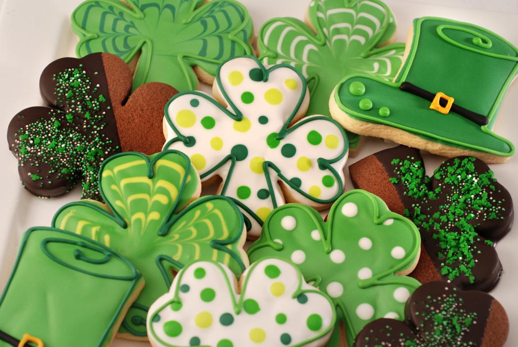 ST.Patrick`s cookies
