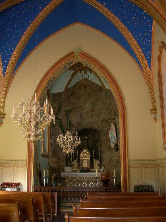 Lourdes Chapel Inside