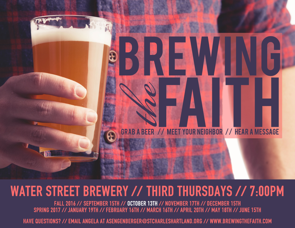 Brewing the Faith Ad