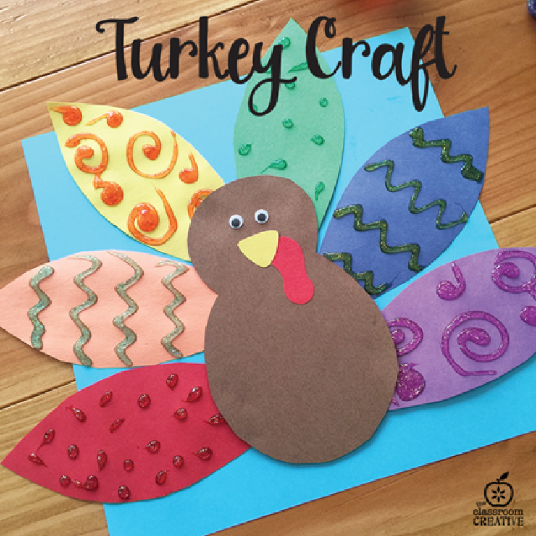 Making Turkey Decorations for Fairhaven Residents--2017 | St