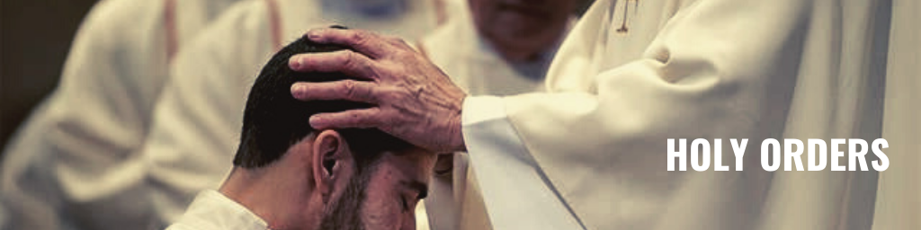 sacrament of holy orders, ordination
