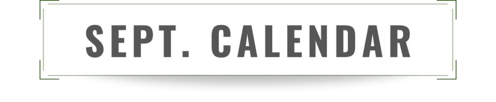 youth ministry september calendar flyer printable