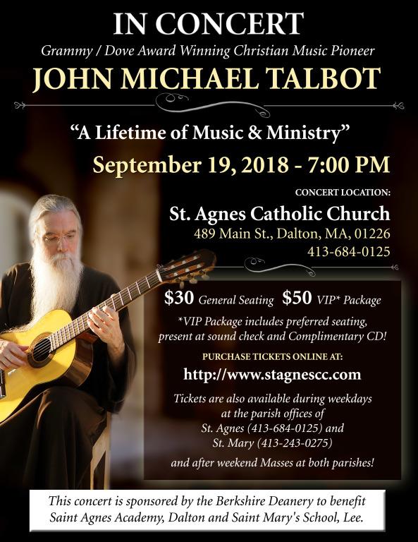 JMT Concert Flyer