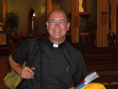 Photo of Fr. Brian McGrath