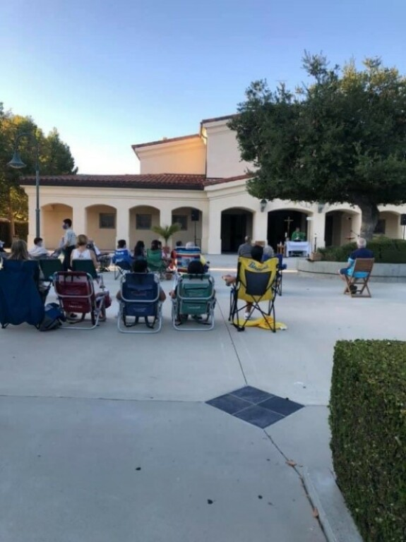 Mass on the Plaza