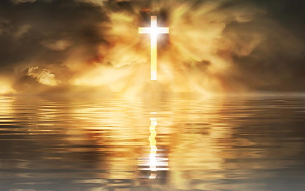 His Cross Calmed the Storm