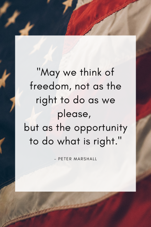 Freedom is an Opportunity