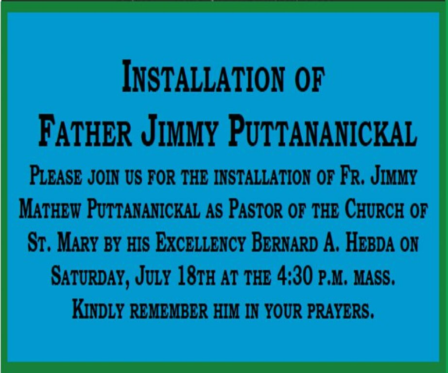 Pastor Announcement 2