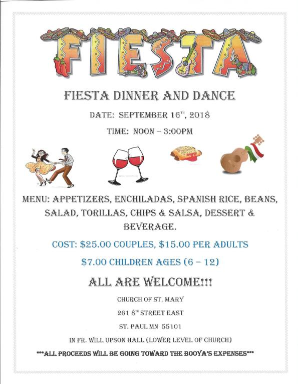 Fiesta Dinner 2018