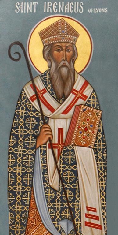 St. Irenaeus of Lyons, France