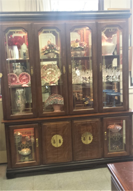 Classy Glass Display Cabinet