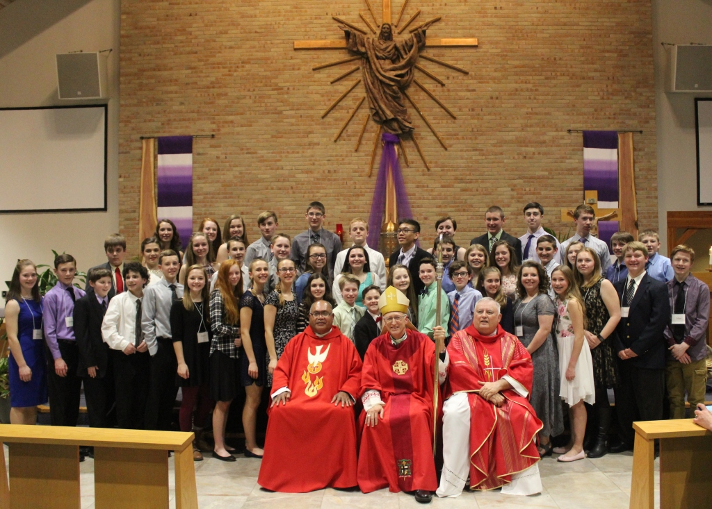 Confirmation Class 2017