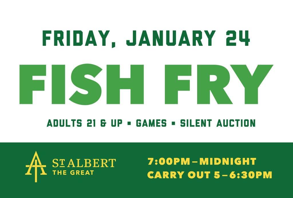 Fish Fry January 24, 2020