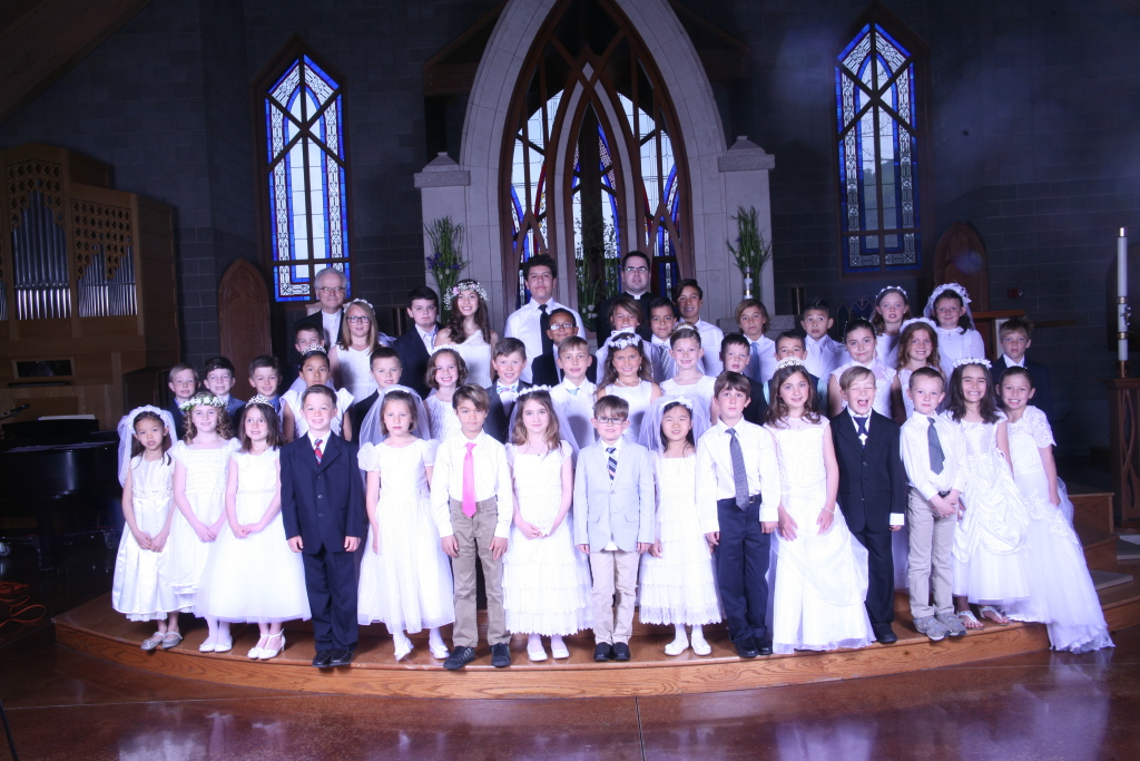 First Communion English