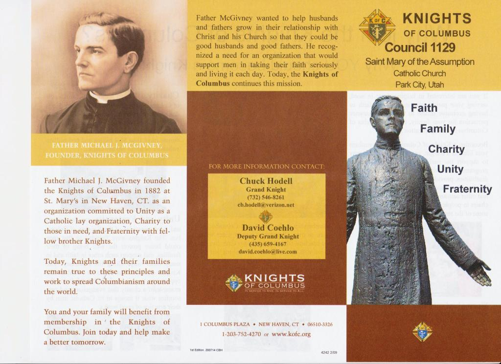 Knights of Columbus Brochure
