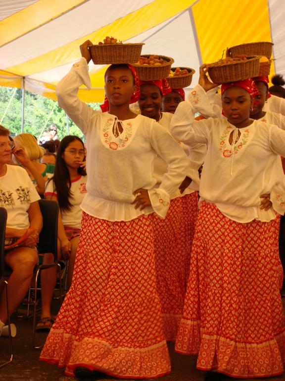 Haitian Community Dancers