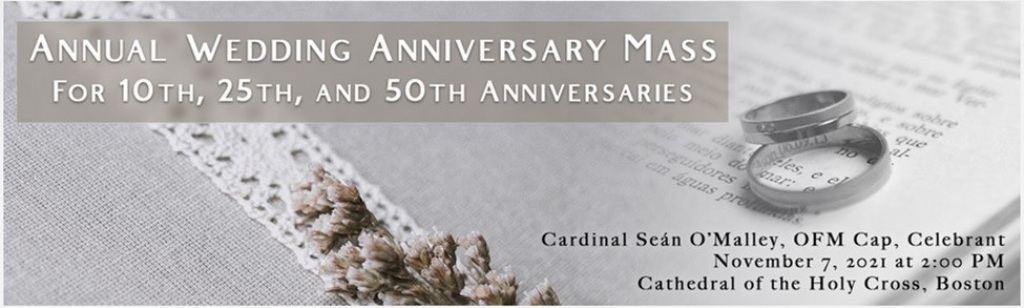Annual Wedding Anniversary Mass