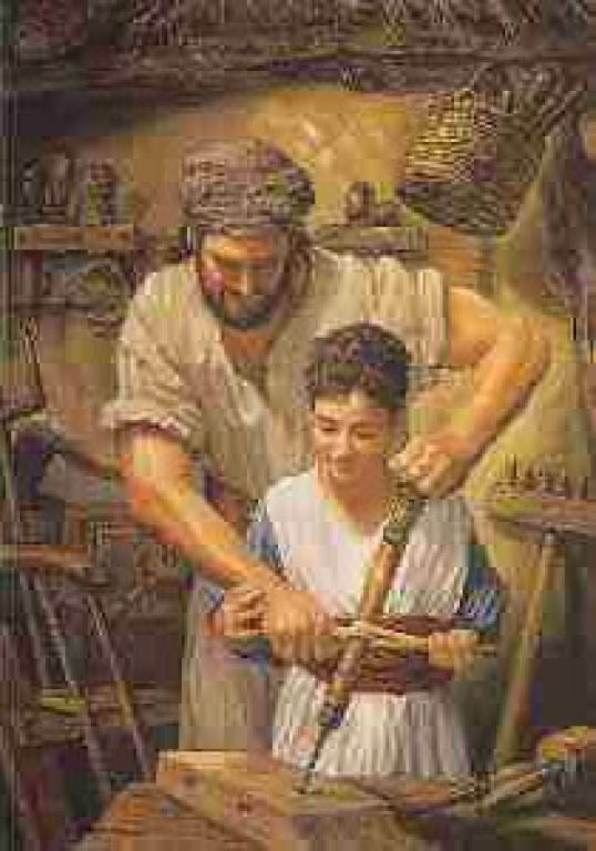 Jesus with Joseph 210x300
