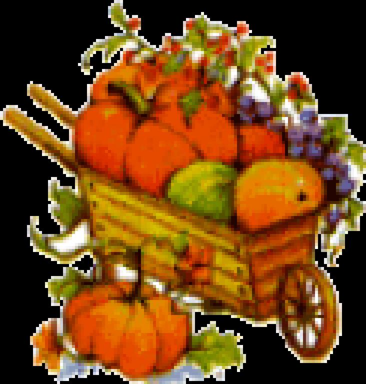 Fall Wheelbarrow