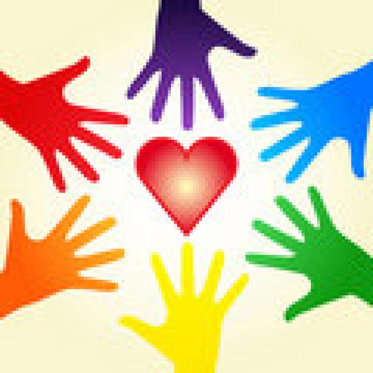 Hands Around a Heart