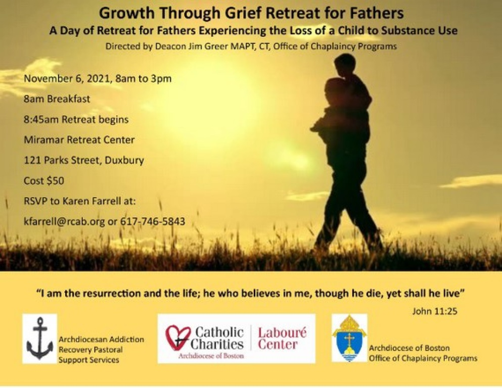 Growth Through Grief Retreat for Fathers