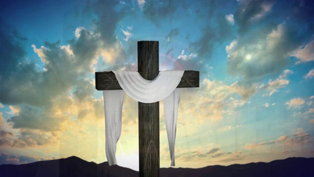 Draped Cross
