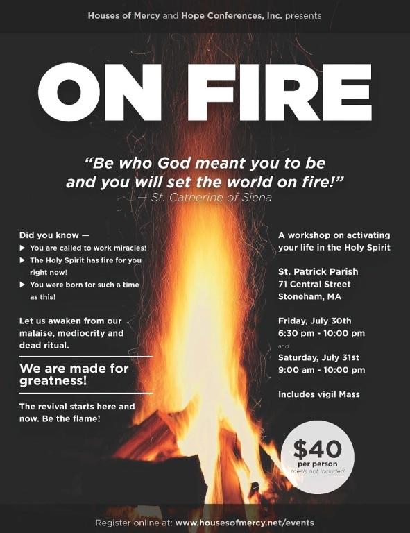 20210730 On Fire flyer