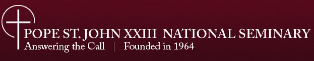 Pope St. John XXIII National Seminary Logo