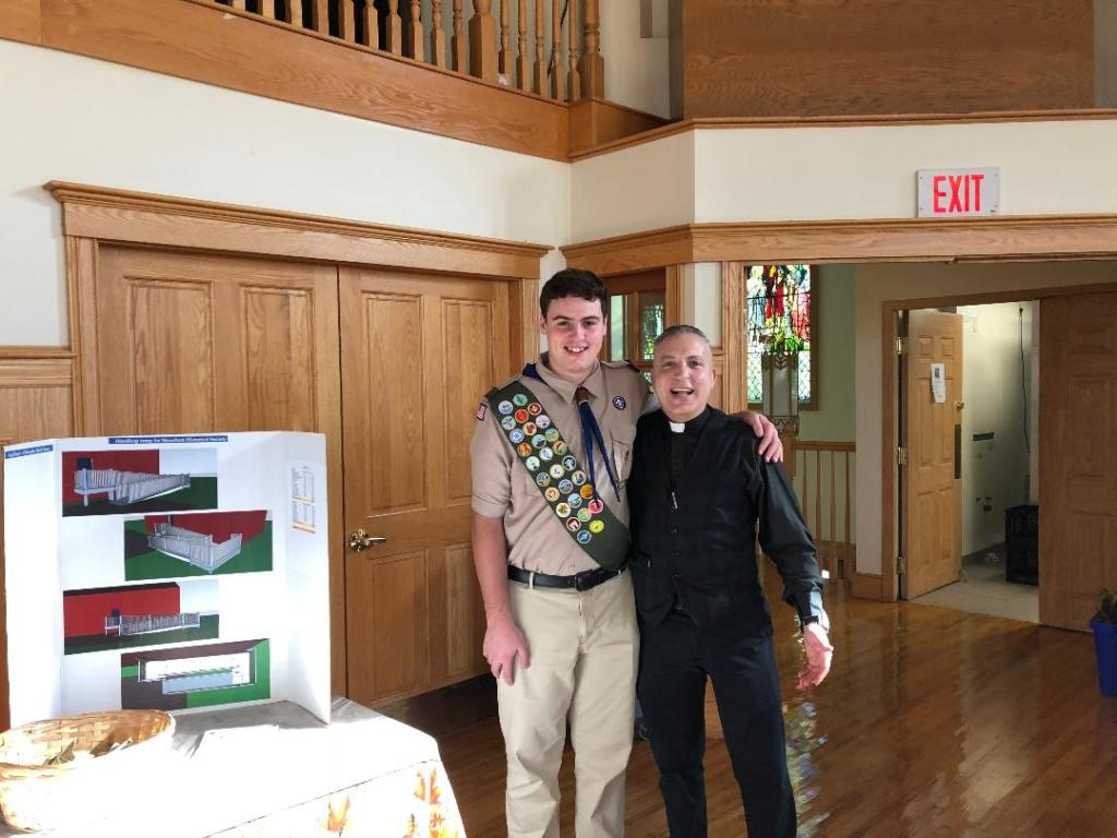 Eagle Scout Christopher Burns