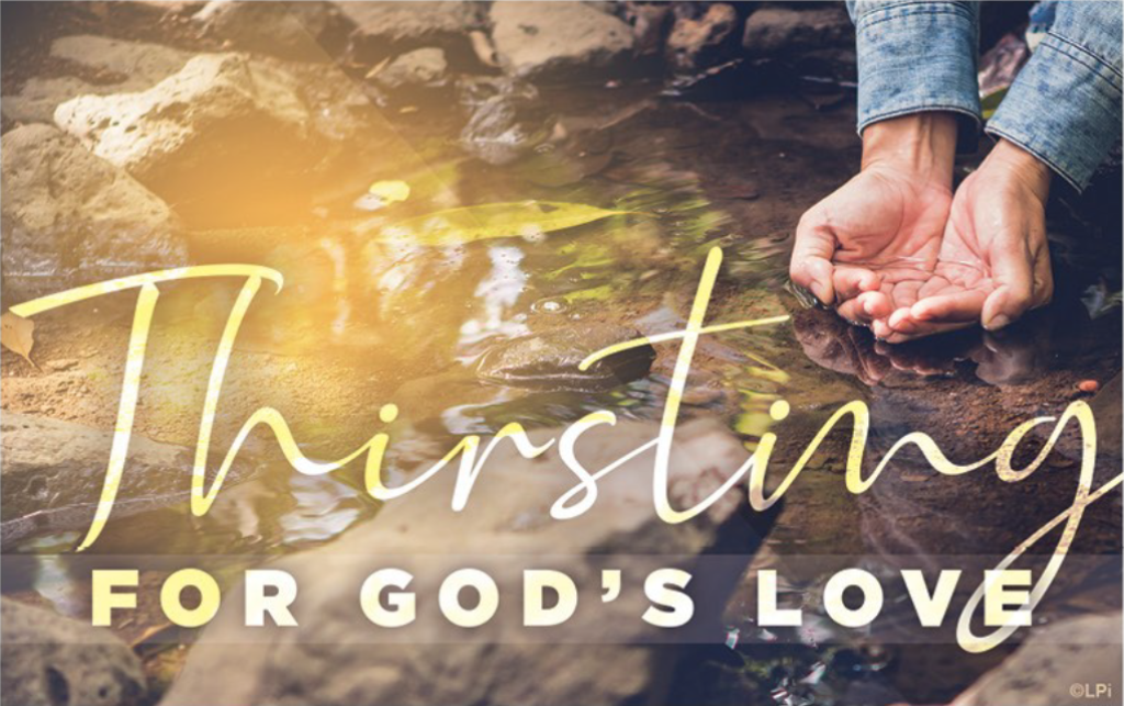 Thirsting for God's Love