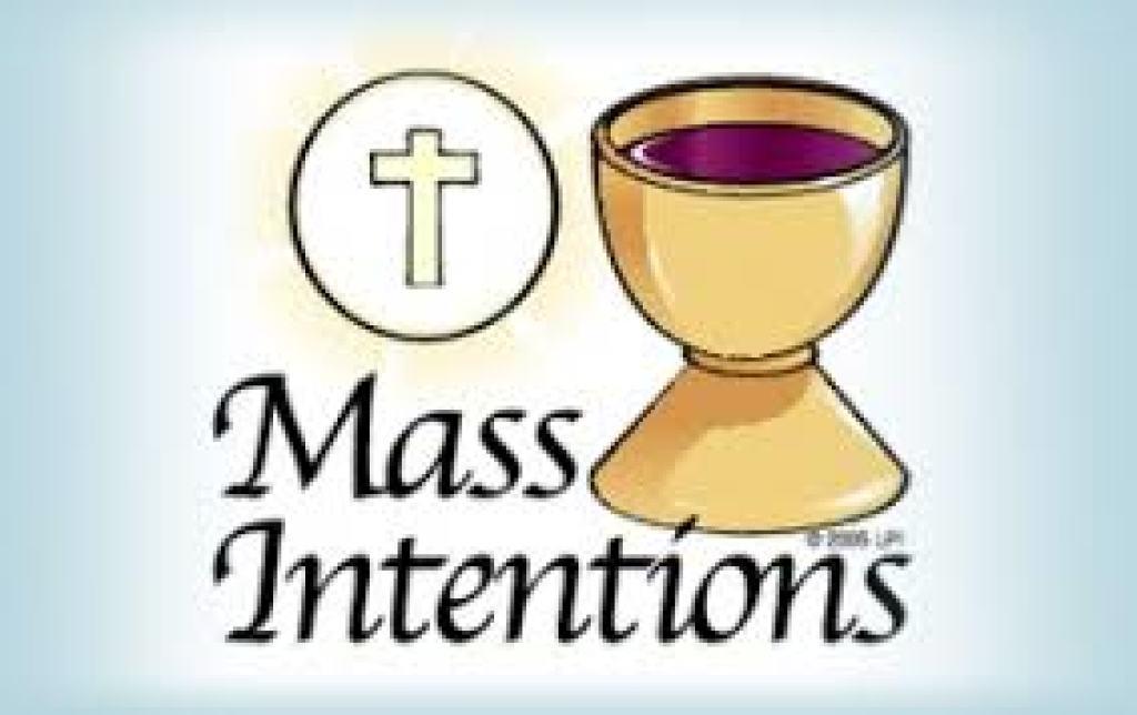 Mass Intentions   St. Joseph Church