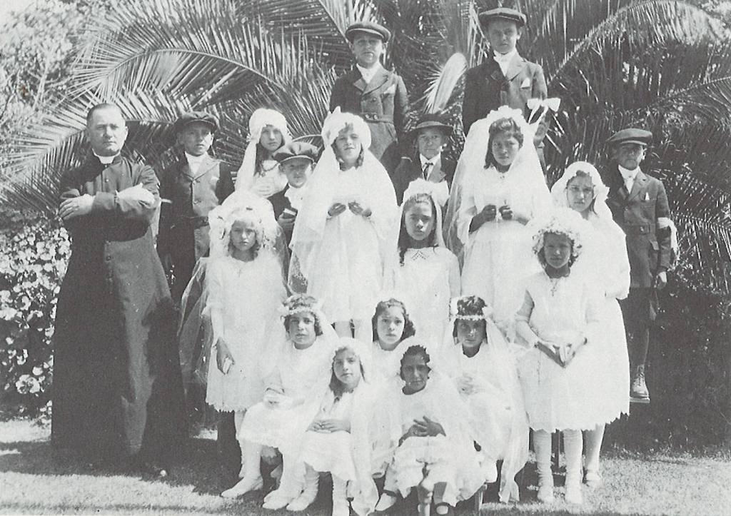 First Communion Class at Parish House