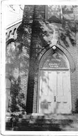 ( St. Joseph Church - ca 1940's)