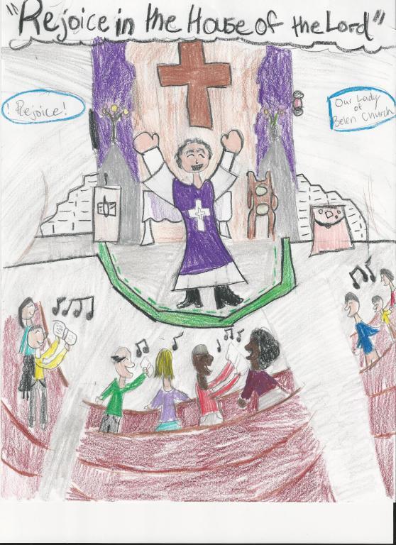 Art Contest Winner Danielle Roache, age 12
