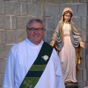 Photo of Deacon Chris McCaffrey