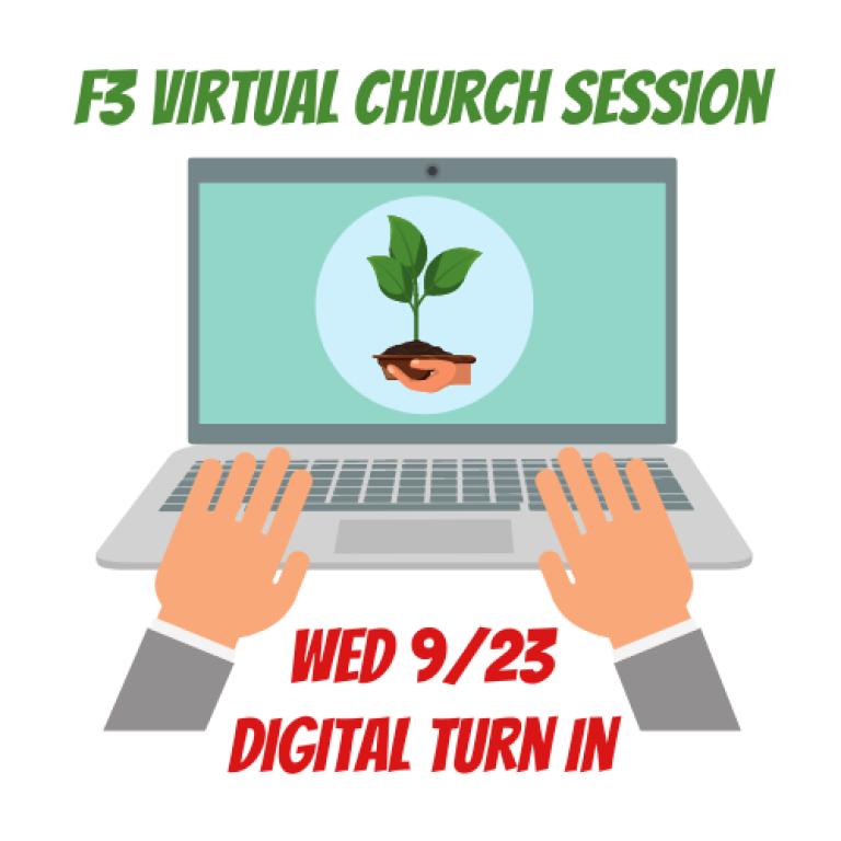 Sept 23 Church Virtual Digital Turn In