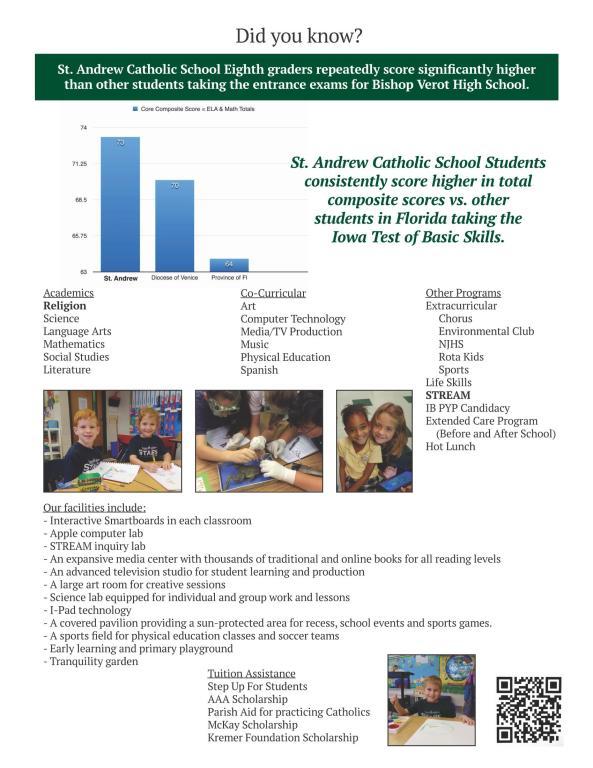 2018 School Flier page 2
