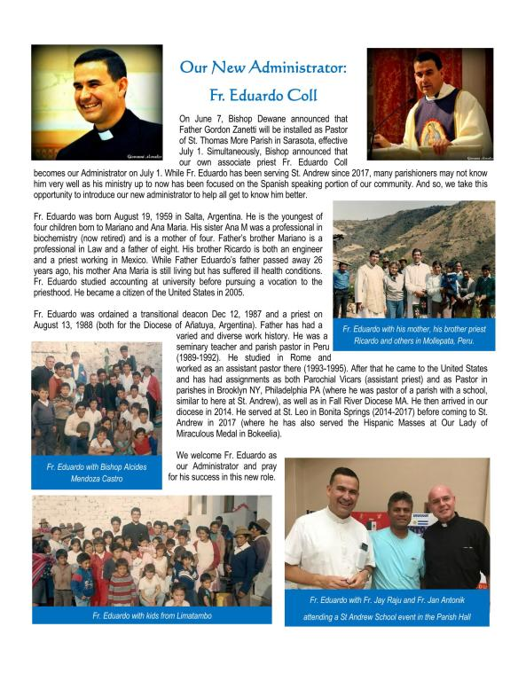 Fr Eduardo Introduction Page