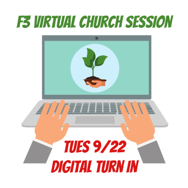 Sept 22 Church Virtual Digital Turn In