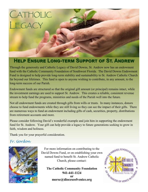 Catholic Legacy Flyer