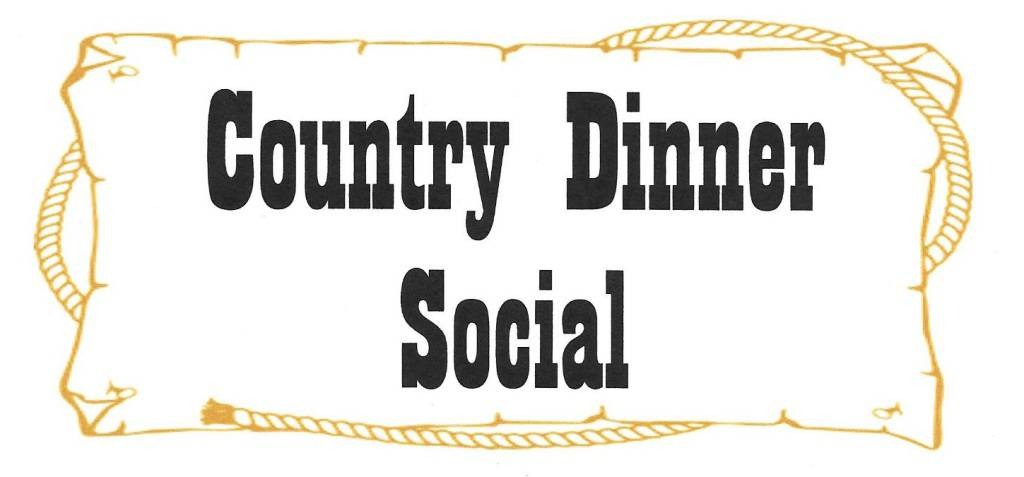 Country Dinner Social Title Image