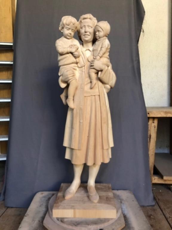 St. Gianna statue