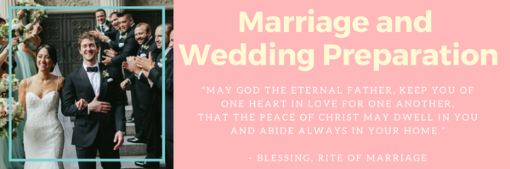The Rite of Matrimony | St  Mary's Cathedral of the