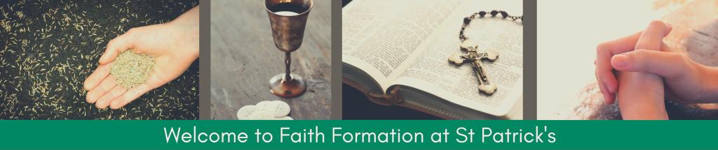 Faith Formation Banner