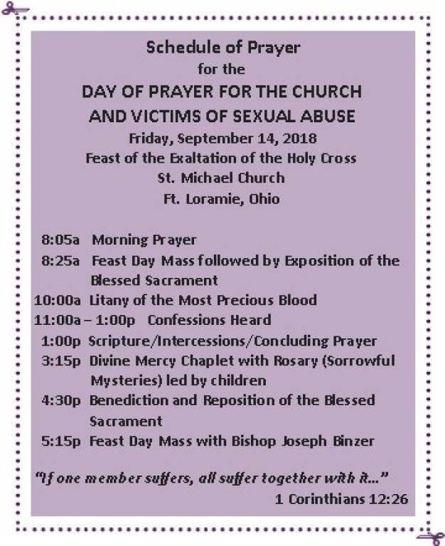 Day of Prayer for Victims of Child Abuse