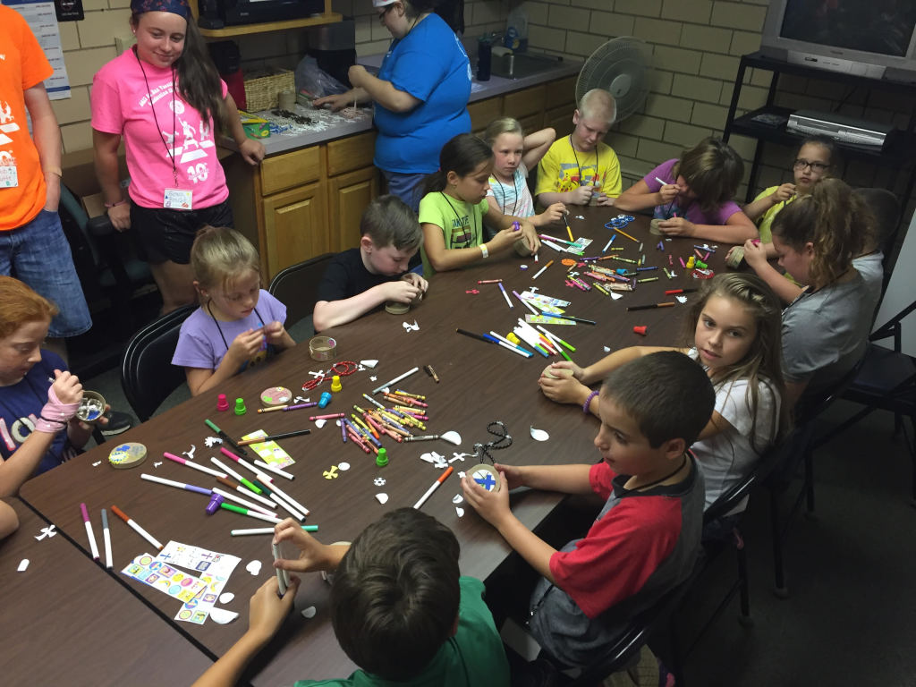 Craft Time at VBS