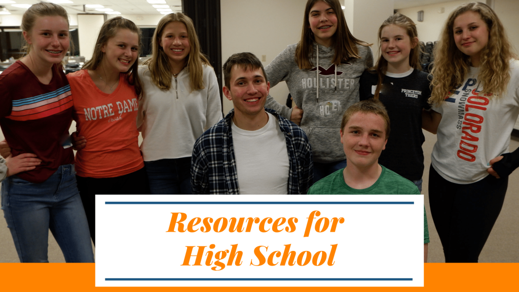 Resource for High School during the Coronavirus