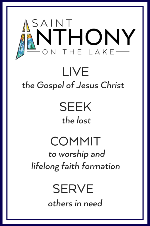 Mission Statement St. Anthony on the Lake