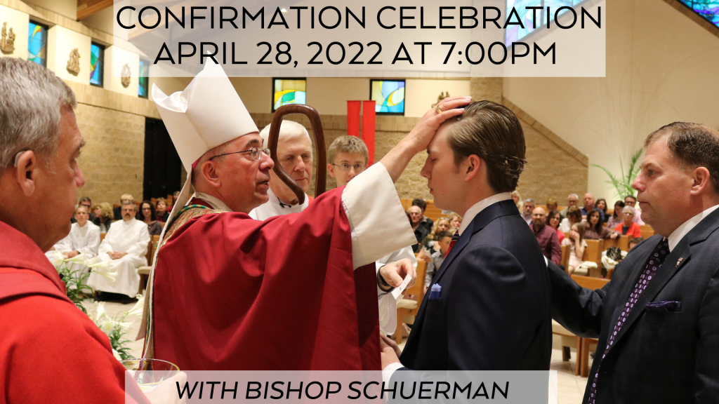 Confirmation 2022 at St. Anthony on the Lake